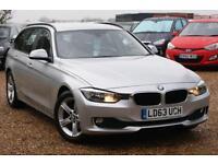 2013 63 BMW 3 SERIES 2.0 316D SE TOURING 5D 114 BHP, FBMWSH, SAT NAV, 1 OWNER