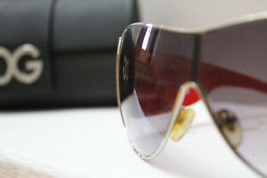 Dolce & Gabbana 2005 edition Red Sunglasses Unisex