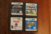 4 nintendo DSI games, comes with lot