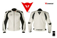 DAINESE NEW DELMAR JACKET  WHITE LAST 1 !NEW! size 56 euro 46 us