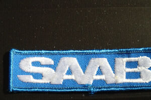 RARE  SAAB logo CREST / PATCH**MINT CONDITION**