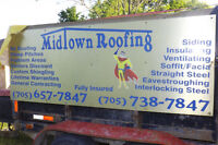 25%off all roofing labor from Midtown Roofing