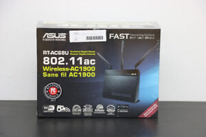 **FACTORY SEALED**ASUS RT-AC68U Dual-band Gigabit Router - 16120