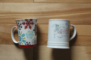 Christmas mugs and cookie cutters