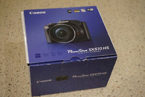 Canon SX510 HS Digital Camera - 30X, 12.1MP, Wifi, 1080P etc