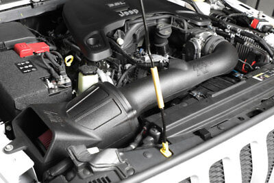 Aircharger Intake System - 2018 Jeep Wrangler JL 3.6L K&N Performance Aircharger Intake System +12HP!