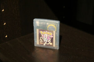 Pokémon Crystal Gameboy Color