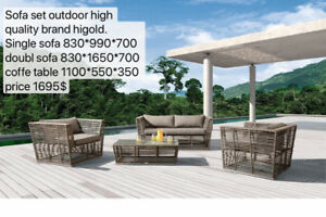 HIGH QUALITY Sofa Outdoor Set Sofas and coffee table