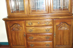 CHINA CABINET(NEW PRICE -$150. MUST GO)