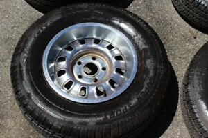 4 Classic Ford Mustang Rally Wheels