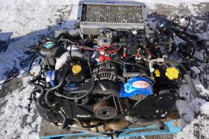 JDM SUBARU GC8 STi EJ207 V5 Engine Manual TY754VBAAASTI