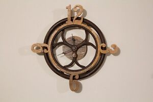 Antique One of a Kind Repurposed Wall Clock