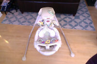 Fisher Price Nature's Touch Baby Papasan Cradle Swing