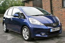 2011 HONDA JAZZ EXCLUSIVE 39000 MILES ONE OWNER FULL HONDA SERVICE HISTORY