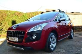 2010 PEUGEOT 3008 1.6 EXCLUSIVE HDI AUTO HATCHBACK DIESEL