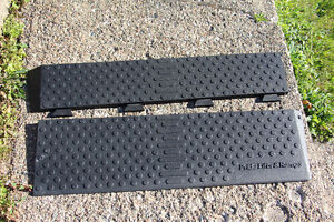 Pride Lifts and Ramps Rubber Threshold Ramp