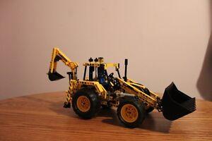 Lego Technic Tractor Back Hoe