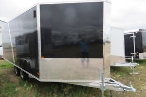 2016 8.4X18 Enclosed/Cargo Trailer Alcom SNO PRO DECKOVER