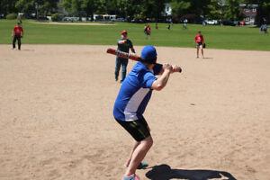 Spring & Summer Adult Co-Ed Softball Leagues