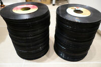 "Lot de 150 vinyles 45 tours rpm 7"" records disques jukebox 33 78"