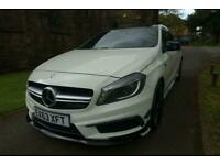 2013 Mercedes-Benz A-CLASS 2.0 A45 AMG 4MATIC 5d 360 BHP Hatchback Petrol Semi A