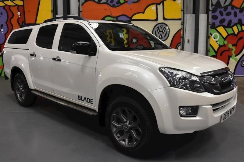 2015 ISUZU D-MAX 2.5TD BLADE DOUBLE CAB PICKUP PEARL WHITE