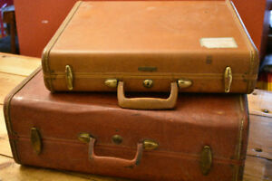 Old and Authentic Samsonite Suitcases