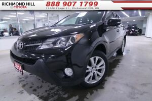 2015 Toyota Rav4 Limited  - one owner - local - trade-in - non-s