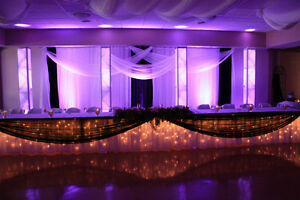 Special effects & decor lighting for weddings& corporate events