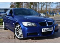 BMW 3 SERIES 320d M Sport (blue) 2008