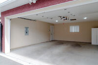 New Double Garage with Alarm