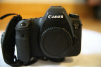 Canon 6D with 28-75 Tamron F2.8 and accessories
