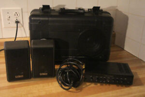 systeme de son portable cambridge soundworks modèle twelve