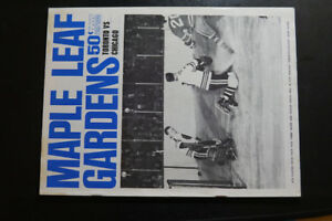 1964 Toronto Maple Leafs hockey Program