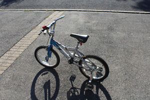 """Boy's Supercycle """"Molten"""" with Training Wheels - Low Price!"""