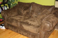 Comfortable Couch and Love Seat - good condition!