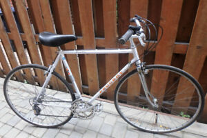 Peugeot race bike adapted for city