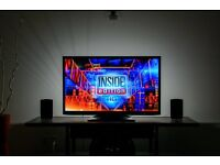 """40"""" LED TV 1080p full HD USB MOVIES 3 MONTHS OLD CAN DELIVER"""