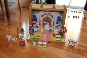 Coffre de princesse transportable Playmobil
