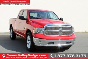 2015 RAM 1500 SLT ONE OWNER, LOW KM, BLUETOOTH,  KEYLESS ENTR...