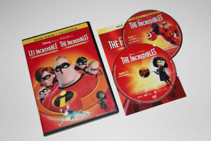 DVD-LES INCROYABLES/THE INCREDIBLES-FILM/MOVIE (C021)