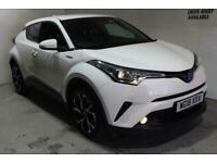 2018 Toyota C-HR 1.8 VVT-h Design CVT (s/s) 5dr SUV Petrol/Electric Hybrid Autom