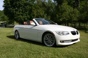 Cabriolet toit rigide, BMW 335i, 2011  en très bonne condition