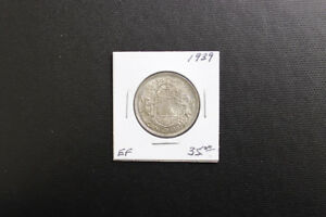 Canada 1939 50 Cent Coin