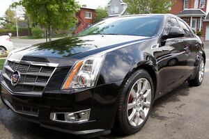 Cadillac CTS 4 AWD 3.6 L GPS toit pano condition A1