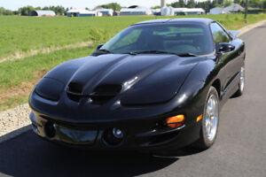 Firebird Trans Am Ws6 2002 seulement 22300Km!