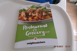 WEIGHT WATCHERS SMART POINTS BOOK FOR RESTAURANT AND GROCERY