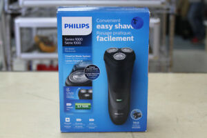 **CONVENIENT** Philips Series 1000 Dry Shaver - 15516