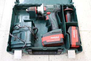 **18V LI-POWER** Metabo Model BS 18 Drill - 16838
