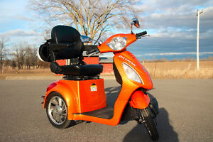 Daymak Orange Rickshaw eBike